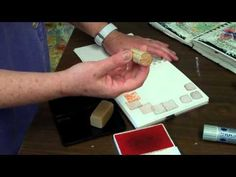 How to begin a mixed media journal with Judith Cassel-Mamet.mp4 - YouTube