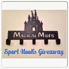 Sport Hooks Giveaway! #running #giveaway #medals #medalhanger