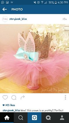Ballerina crown