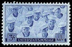 Scott # 935 - 1945 3c Navy
