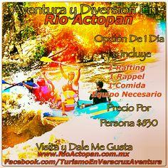 #Aventura y #diversion en el río #Actopan #megusta http://www.Facebook.com/TurismoEnVeracruzAventura #Veracruz #Mexico