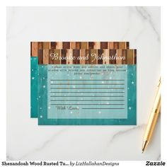 Check out Zazzle's wedding advice cards today. Wedding Advice Cards, Happy Marriage, Special Day, Turquoise, Stars, Wood, Woodwind Instrument, Trees, Home Decor Trees