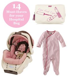 14 Must-Haves for your Hospital Bag #spon