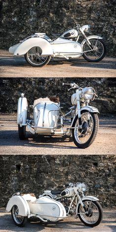 BMW r25/2 Steib sidecar