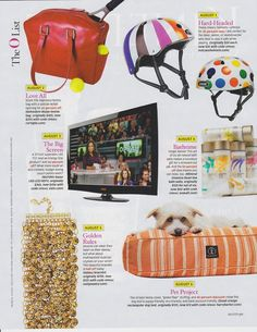 Nora Arden has made it to the Big Time appearing in Oprah Magazine (lower right corner) #dogs #Oprah #style #magazines