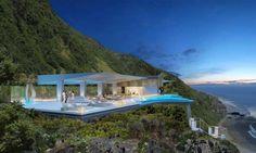 Amazing Cliff Villa In Bali Indonesia