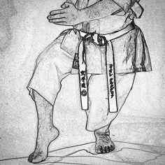 #zeichnung #drawing #karate #karatedo #shotokan #dojo #dan #meistergrad #budoka #schwarzgurt #kuroobi #blackbelt #nekoashidachi #kaishu http://ift.tt/1NFeDkK www.taikikan.de