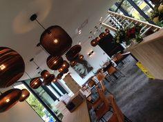 BLUE BUDDHA #restaurant #DARK #lighting #design #interiordesign by Cédric #project at Knokke-Heist BE