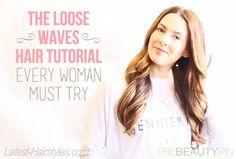 Loose Waves Hair Tutorial