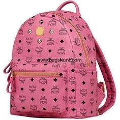MCM Small Stark Backpack Visetos Pink 2016 Online - $195.00 | I found the Bags Home | Scoop.it