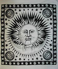 Psychedelic Celestial Sun Moon Tapestry, Indian Sun Wall Hanging, Beach Throw  Free Shipping 100% Positive feedback Buy Now : http://ebay.to/1vKbmdt  #tapestry #wallhanging #beachthrow