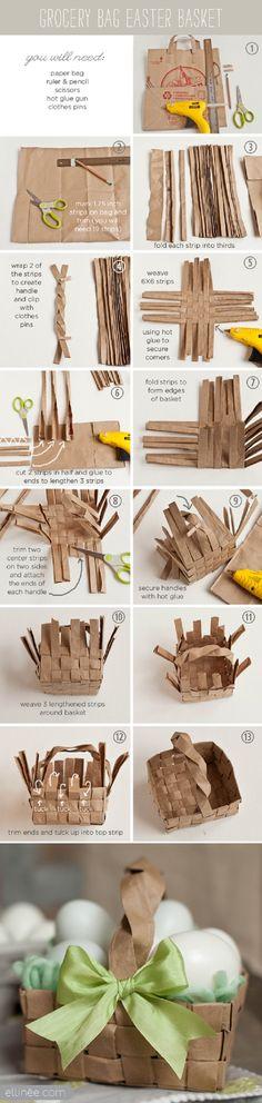 15 Creative DIY Easter Basket Ideas | GleamItUp