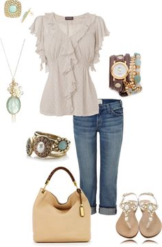 Cute outfit minus the necklace!