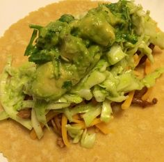 BBQ pulled pork tacos with Bobby Flay's cabbage citrus slaw and ...