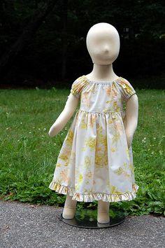 pillowcase dress | portrait peasant