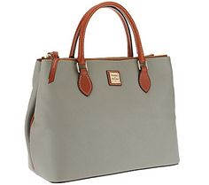 Dooney & Bourke Pebble Leather Willa Satchel