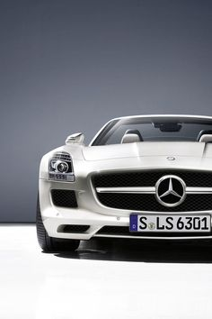 Visit The MACHINE Shop Café... ❤ The Best of Mercedes-Benz ❤ (The Mercedes-Benz SLS AMG)