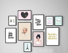 Are you looking for hair color dark hairdos See our collection full of hair color dark hairdos 2018 and get inspired! Bedroom Frames, Bedroom Decor, Frames On Wall, Framed Wall Art, Art Frames, Image Deco, Wall Painting Decor, Photo Deco, Cute Room Decor