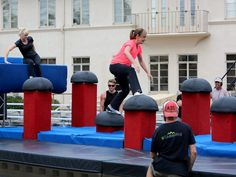 american ninja warrior obstacles images - Google Search