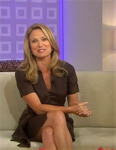 Amy Robach TV USA Shirt Dress, Dresses, Hot, Legs, Shirts, Jennifer, Amy, Tshirt Dress, Fashion