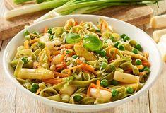 Einfach Lecker » Pasta Primavera mit Spargel » Finden Sie leckere Rezeptideen für jeden Tag, die Ihnen das tägliche Kochen leichter machen. » Einfach Lecker