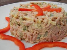 Sloní mlsanec Slovak Recipes, Czech Recipes, Ethnic Recipes, Salad Recipes, Snack Recipes, Cooking Recipes, Ceviche, Sashimi, Tapenade