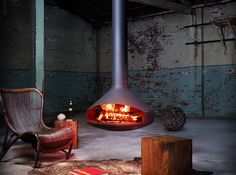 Hanging And Freestanding Fireplaces To Keep You Warm This Winter