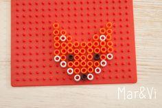 Patrón de Hama Beads para hacer un zorro
