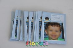 Imã para lembrança de batizado  :: flavoli.net - Papelaria Personalizada :: Contato: (21) 98-836-0113 - Também no WhatsApp! vendas@flavoli.net Polaroid Film, Personalized Stationery, Party, Pictures