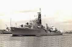 HMS Diana was one of the Daring-class of destroyers planned during the Second World War by the Royal Navy. The design therefore reflected developments of the Pacific campaign, including long range and the ability to efficiently Replenish At Sea.