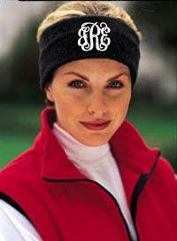 tinytulip.com - Monogrammed Fleece Headband, $18.50 (http://www.tinytulip.com/monogrammed-fleece-headband)