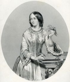 Rebecca Douglas (engraving) by Anonymous