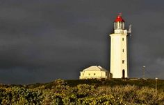 Danger Point lighthouse in Gansbaai - Whale Coast - South Africa Oh The Places You'll Go, Places Ive Been, Travel Companies, Light House, Fishing Villages, Travel Planner, Rest Of The World, Best Cities, South Africa
