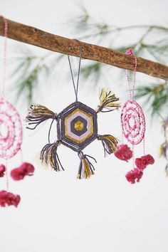 Geo Yarn Ornament - Urban Outfitters
