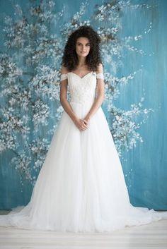 KING - Emmaline Bridal   #ballgown #beaded #strap #big #sweetheart #floral