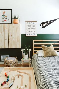 This Photographer's Serene Home Will Have You Moving To The PNW | Kid's Room | Kid's Bedroom | Neutral Home