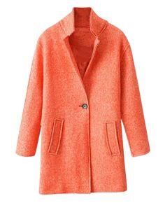 Boyfriend-style Md-long Woolen Coat