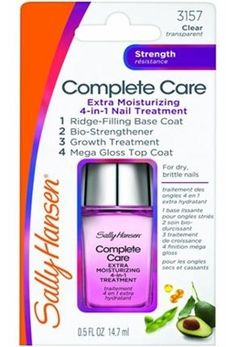 Sally Hansen Complete Care Extra Moisturizing 4 in 1 Nail Treatment 14.7 ml Extra Nemlendirici Tırnak Bakımı