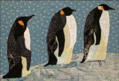 Penguins quilt pattern