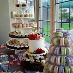 Check out some of our work. Contact us to place a special order for your  wedding, birthday, or parties! We bake, deliver and set up