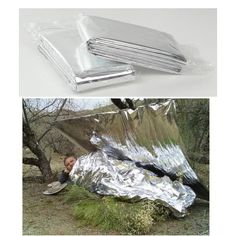 #2/5/10pcs #outdoor #survival emergency rescue first aid space foil thermal blank,  View more on the LINK: 	http://www.zeppy.io/product/gb/2/301625266354/
