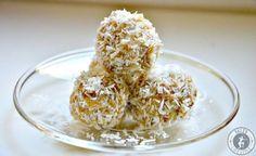 Kokos-Limetten-Bällchen