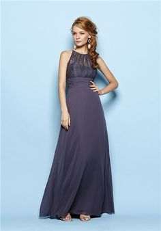 Br by Jasmine, B163015, comes in scarlet and grape, and in tea length or long.
