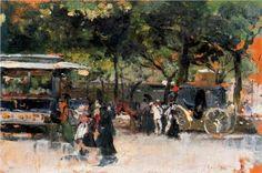 Outskirts of Paris - Joaquín Sorolla