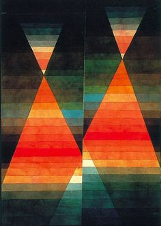 Double Tent, 1923, by Paul Klee