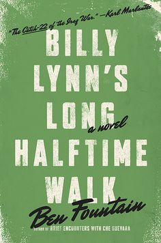 A gripping war novel set not on the battlefield, but at a Dallas Cowboys game.