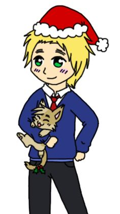 Thames and Neko by AskRomaniaCat on DeviantArt