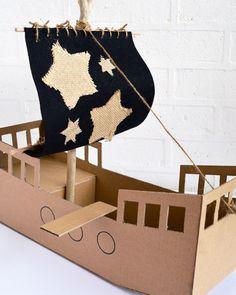 bateau pirate diy