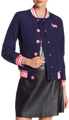 #affiliatead -- LOVE Moschino Giubbino Colorblock Bomber Jacket -- #chic only #glamour always