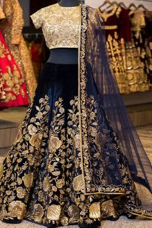 Lehenga Choli | Lehenga | Lehenga Design | Lehenga Online at Joshindia.com Party Wear Lehenga, Bridal Lehenga, Pakistani Bridal, Boutique Fashion, Traditional Indian Wedding, Indian Bridal Outfits, Indian Dresses, Silk Lehenga, Black Lehenga